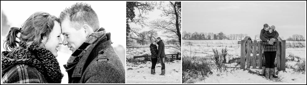 Loveshoot in de sneeuw Leiden