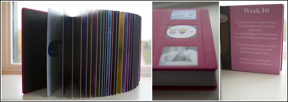 zwangerschapsdagboek met foto's