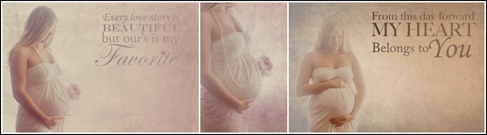 Romantic vintage styled Maternity Session