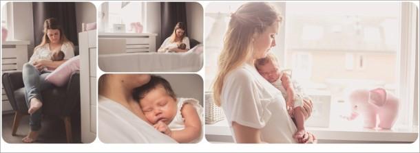 Newbornreportage Hoogmade