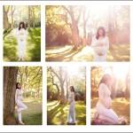 Zwangerschapsreportage Panbos Katwijk golden hour