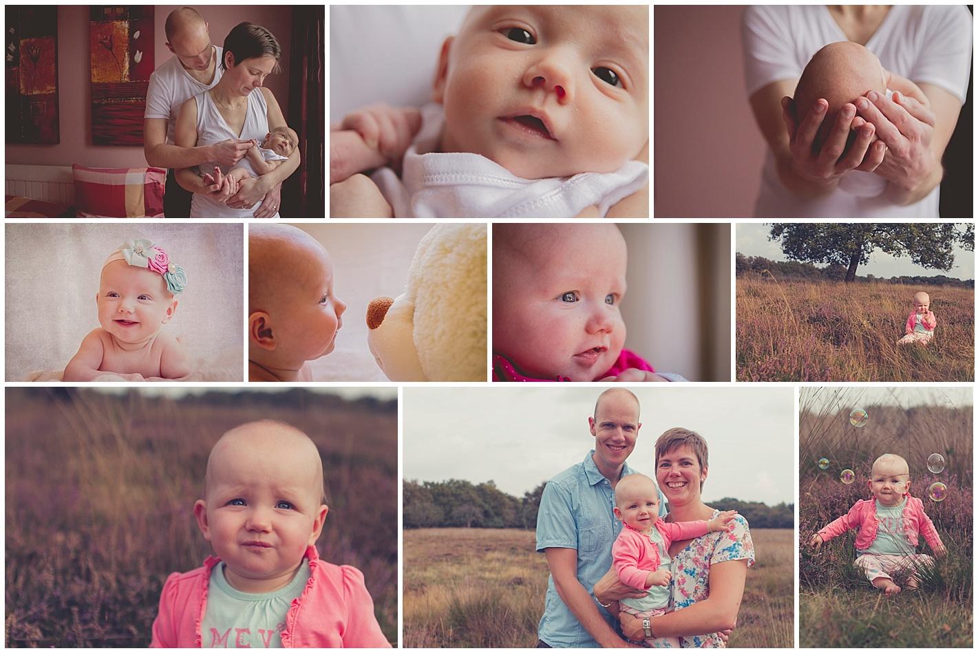 Baby eerste jaar reportage overzicht