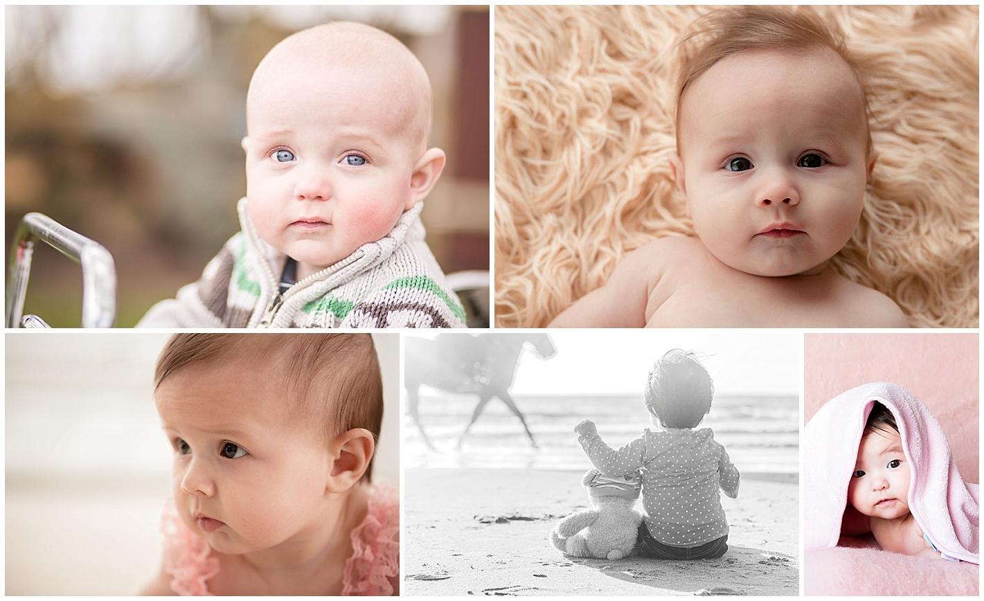 Baby foto reportage tot 1 jaar