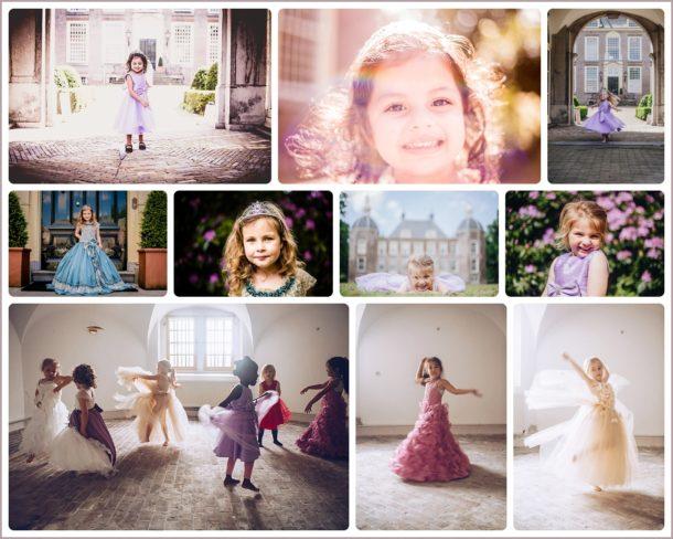 Prinsessen mini shoot in kasteel