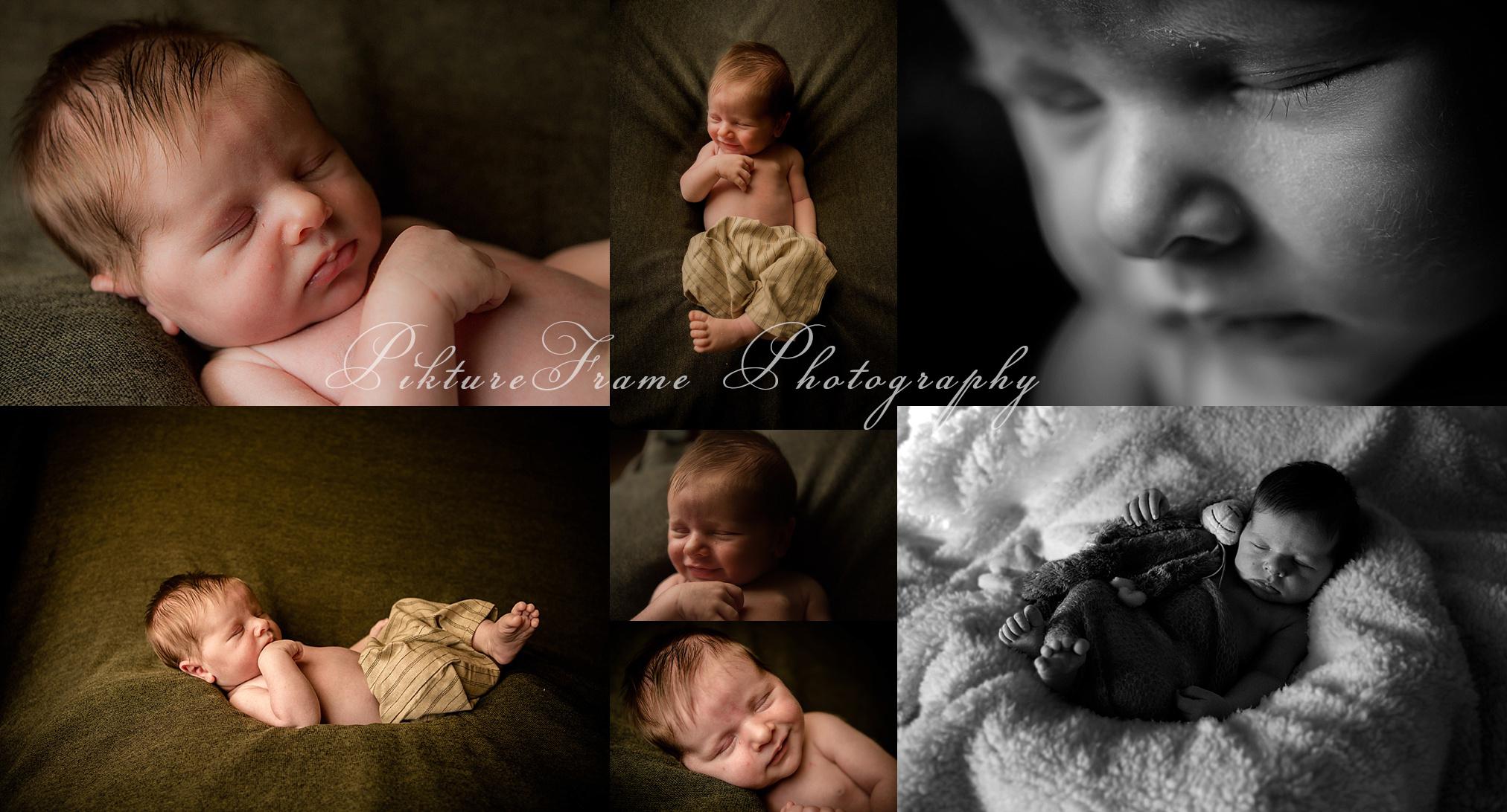 Newborn reportage details baby