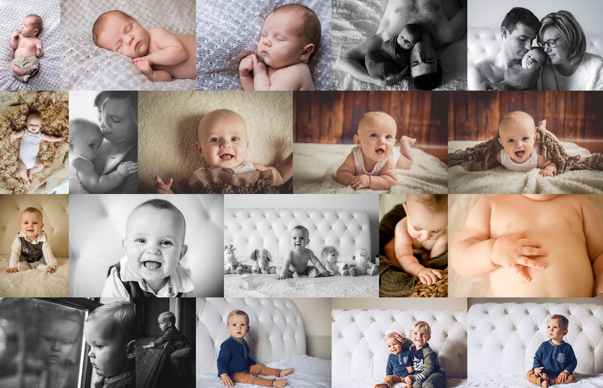 Baby's eerste jaar vastleggen in 4 reportages