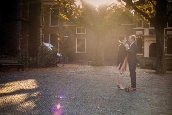Huwelijksreportage Leiden