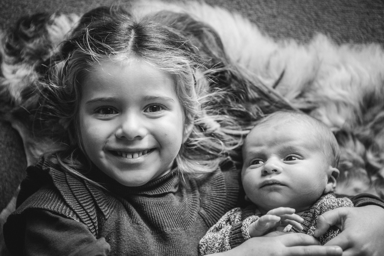broer en zus fotoreportage