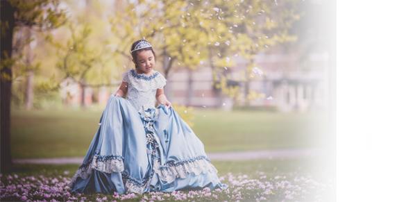 prinsessen mini foto sessie