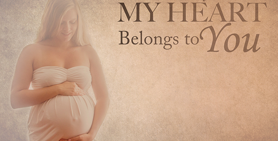 vintage/ romantisch gestijlde zwangerschapsreportage